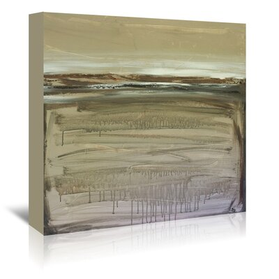 Americanflat 'Zen Earth' by Laura D Zajac Art Print Wrapped on Canvas