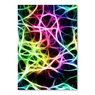 Americanflat Wonderful Dream Colourful Neurons Nerve Healthy Modern Graphic Art