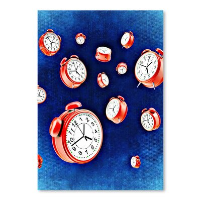 Americanflat Wonderful Dream Design of Clock Time Graphic Art