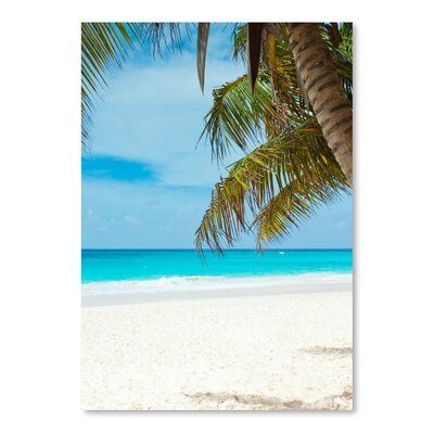 Americanflat Wonderful Dream Beach Holiday Travel Style Photographic Print