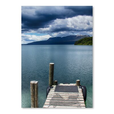Americanflat Wonderful Dream Beach Pier Holiday Photographic Print