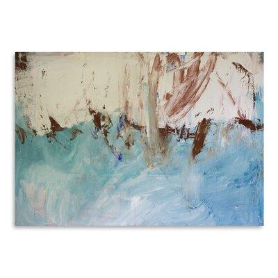 Americanflat 'River Flows Through' by Laura D Zajac Art Print