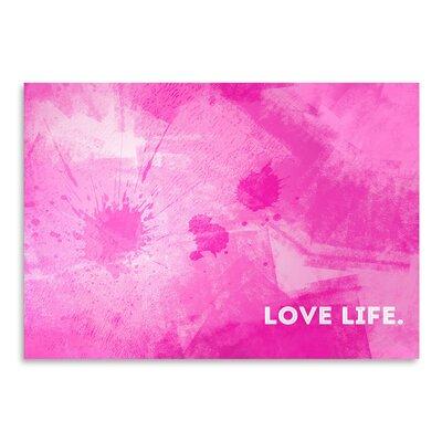 Americanflat Emotional Art Love Life' by Melanie Viola Graphic Art
