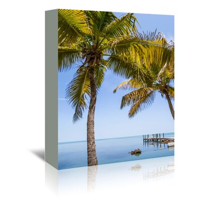 Americanflat 'Florida Keys Lovely Oceanside' by Melanie Viola Photographic Print Wrapped on Canvas