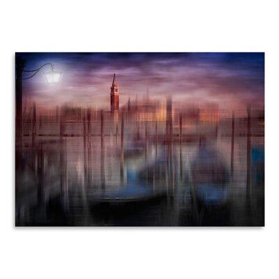 Americanflat 'City Art Venice Gondolas at Sunset' by Melanie Viola Graphic Art