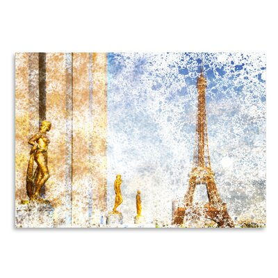Americanflat City Art Paris Eiffel Tower II' by Melanie Viola Graphic Art