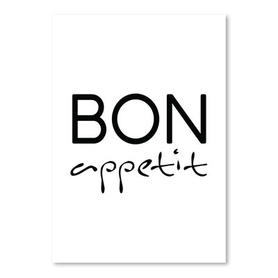 Americanflat 'Bon Appetit' by Pop Monica Typography