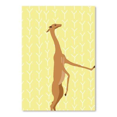 Americanflat 'Gerenuk' by Jorey Hurley Graphic Art