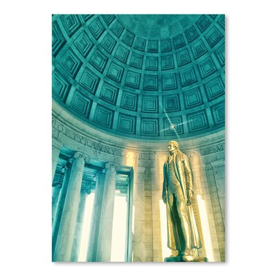 Americanflat Jefferson Memorial 2' by Golie Miamee Photographic Print