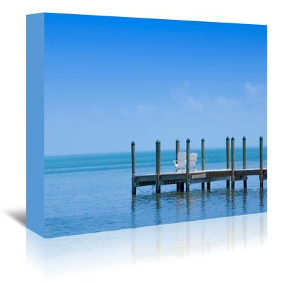 Americanflat 'Florida Keys Quiet Place Panoramic View' by Melanie Viola Photographic Print Wrapped on Canvas