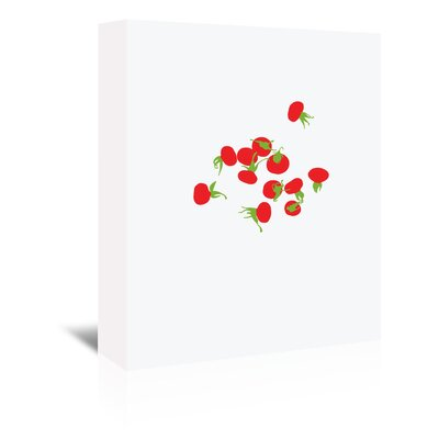 Americanflat 'Rose Hips' by Jorey Hurley Art Print Wrapped on Canvas