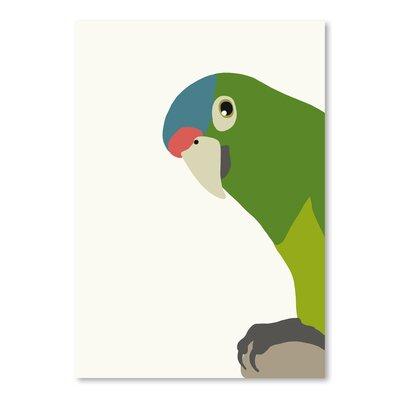 Americanflat 'Parrot' by Jorey Hurley Art Print