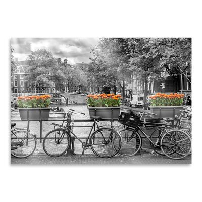 Americanflat 'Typical Amsterdam - Panoramic View' by Melanie Viola Photographic Print
