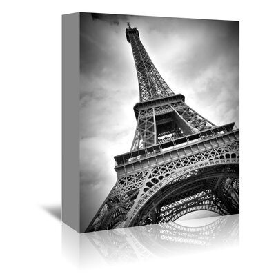 Americanflat Paris Eiffel Tower Dynamic' by Melanie Viola Photographic Print Wrapped on Canvas