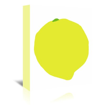 Americanflat 'Lemon' by Jorey Hurley Art Print Wrapped on Canvas