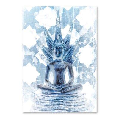 Americanflat 'Gautama Buddha II' by Golie Miamee Graphic Art