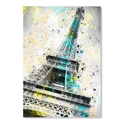 Americanflat City Art Paris Eiffel Tower IV' by Melanie Viola Graphic Art
