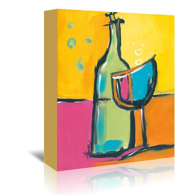 Americanflat 'Happy Hour III' by Terri Einer Art Print Wrapped on Canvas