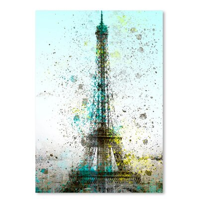 Americanflat 'City Art Paris Eiffel Tower' by Melanie Viola Graphic Art