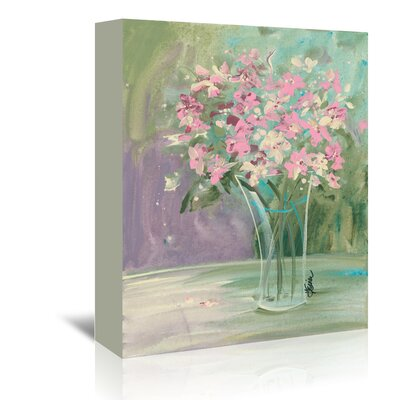 Americanflat Pastel Blooms' by Terri Einer Art Print Wrapped on Canvas