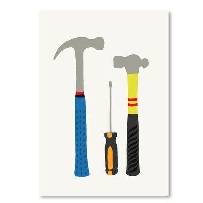 Americanflat Tools 1' by Jorey Hurley Art Print