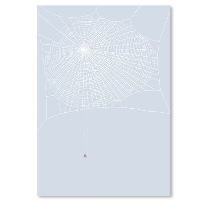 Americanflat 'Spider and Web' by Jorey Hurley Art Print
