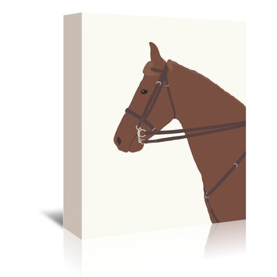 Americanflat Police Horse' by Jorey Hurley Art Print Wrapped on Canvas