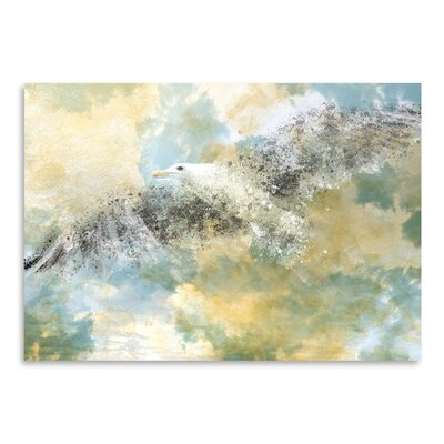 Americanflat 'Digital Art Vanishing Seagull' by Melanie Viola Graphic Art