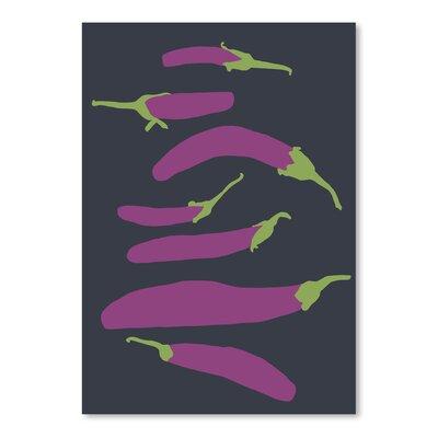 Americanflat Eggplants' by Jorey Hurley Art Print