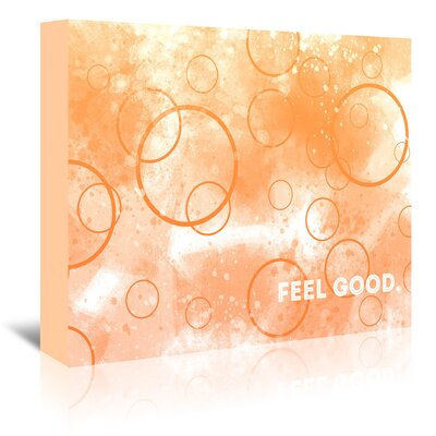 Americanflat Emotional Art Feel Good' by Melanie Viola Graphic Art Wrapped on Canvas