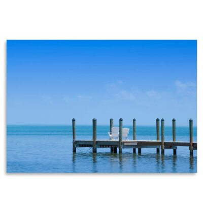 Americanflat Florida Keys Quiet Place - Panoramic View' by Melanie Viola Photographic Print