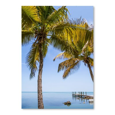 Americanflat 'Florida Keys Lovely Oceanside' by Melanie Viola Photographic Print