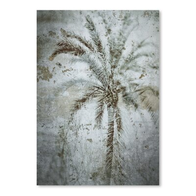 Americanflat 'Palm on Concrete' by Golie Miamee Graphic Art