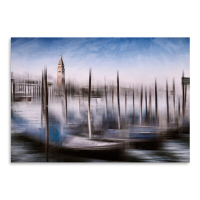 Americanflat 'City Art Venice Gondolas & Grand Canal' by Melanie Viola Graphic Art