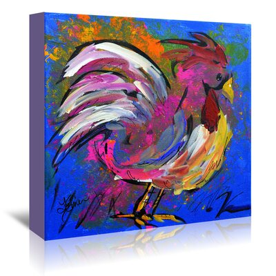 Americanflat 'Funky Chicken' by Terri Einer Art Print Wrapped on Canvas