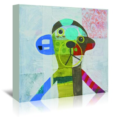 Americanflat 'Monkey' by Julie Beyer Art Print Wrapped on Canvas