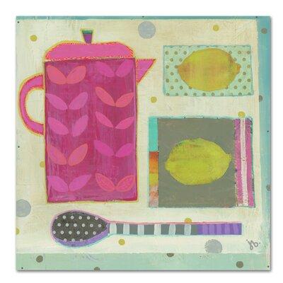Americanflat Tea with Lemons' by Julie Beyer Art Print