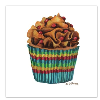 Americanflat 'Carny Cupcake' by JJ Galloway Art Print