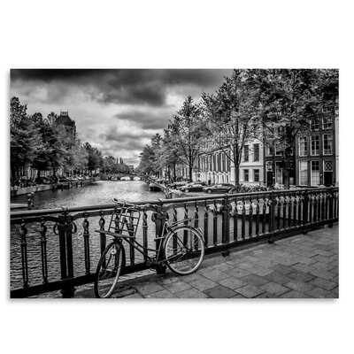 Americanflat 'Amsterdam Gentlemen's Canal' by Melanie Viola Photographic Print