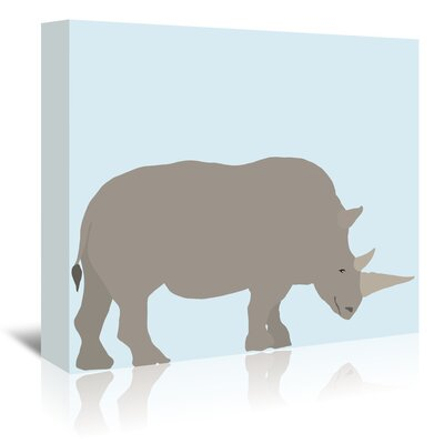 Americanflat 'Rhino' by Jorey Hurley Art Print Wrapped on Canvas