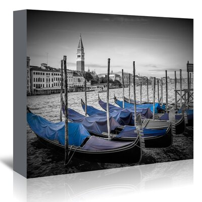 Americanflat 'Venice Grand Canal and St Mark's Campanile II' by Melanie Viola Photographic Print Wrapped on Canvas