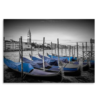 Americanflat 'Venice Grand Canal & St Mark's Campanile II' by Melanie Viola Photographic Print