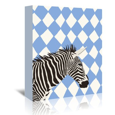 Americanflat 'Zebra' by Jorey Hurley Art Print Wrapped on Canvas