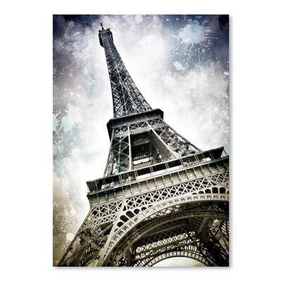 Americanflat 'Modern Art Paris Eiffel Tower Splashes' by Melanie Viola Graphic Art