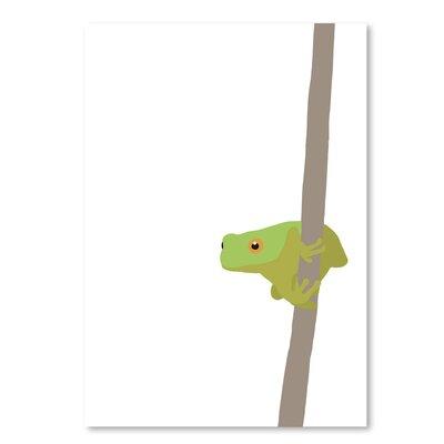 Americanflat Frog' by Jorey Hurley Art Print