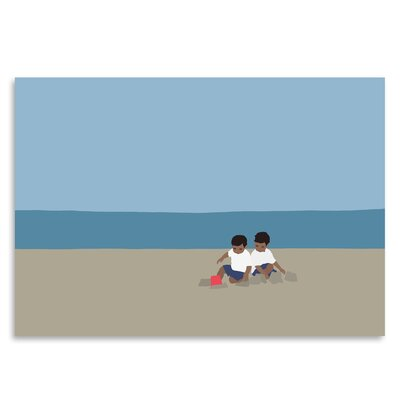 Americanflat 'Sandcastle' by Jorey Hurley Art Print