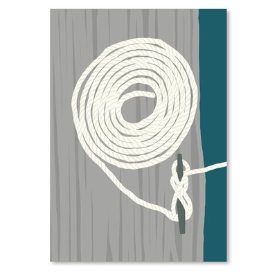 Americanflat 'Coil and Cleat 1' by Jorey Hurley Art Print