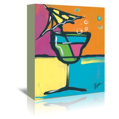 Americanflat 'Happy Hour II' by Terri Einer Art Print Wrapped on Canvas