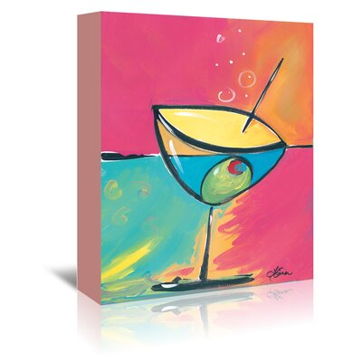 Americanflat 'Happy Hour IV' by Terri Einer Art Print Wrapped on Canvas