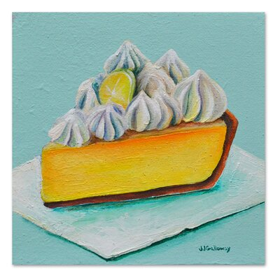 Americanflat 'Lemon Meringue' by JJ Galloway Art Print